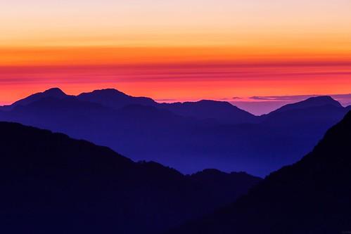 Colorful Dawn / 日出色塊