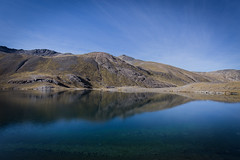 Laguna Jurikhota (__Alex___) Tags: voyage trip travel blue lagune mountain mountains reflection nature water trekking trek canon reflections landscape view wide bolivia calm 5d laguna paysage reflets montagnes bolivie 1635 1635mm jurikhota 1635f4is