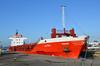 LAIDA (sgreen757) Tags: uk port docks river boat dock ship cargo gloucestershire september severn shipping coaster laida glos sharpness 2015
