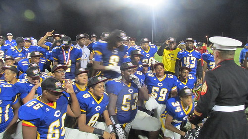"""Center Vs. St. Pius X - Sept 18, 2015 • <a style=""""font-size:0.8em;"""" href=""""http://www.flickr.com/photos/134567481@N04/21342596138/"""" target=""""_blank"""">View on Flickr</a>"""