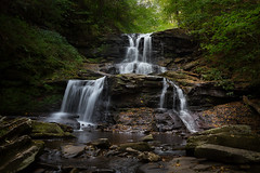 Tuscarora Waterfall ***EXPLORED*** (Jason Gambone) Tags: longexposure nature canon pennsylvania glenn pa 6d ricketts canon6d jasongambone jasongambonecom
