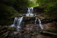 Tuscarora Waterfall ***EXPLORED*** (Jason Gambone) Tags: longexposure nature canon pennsylvania glenn pa 6d ricketts canon6d jasongambone jasongambonecom
