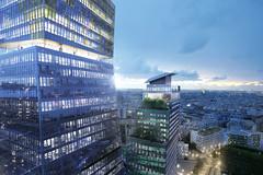 Проект башен Tours DUO от Жана Нувеля в Париже