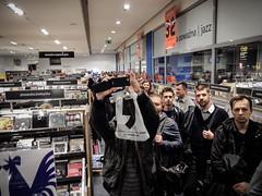 Jean-Michel Jarre (robseye76) Tags: jean vinyl poland polska meeting autograph michel meet warszawa jeanmichel empik jarre jeanmicheljarre