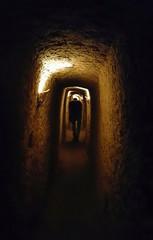 شهر زیرزمینی اویی - طولانی ترین شهر زیرزمینی جهان ،تا عمق بیست و یک متری از سطح زمین . نوش آباد،کاشان،اصفهان (sara.sfr) Tags: