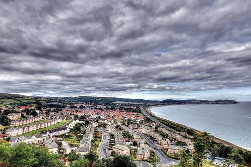 Colwyn Bay, Conwy County Borough, North Wales.
