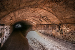 Lit Arches! (ISO Art) Tags: camera old city trip travel urban baby sun hot color building sexy abandoned love water architecture hospital photography photo nice outdoor decay urbandecay tripod extreme australian surreal australia indoor eerie babe brisbane tourist adventure flashback explore infiltration qld queensland aussie urbex tourer urbanlight ubrex