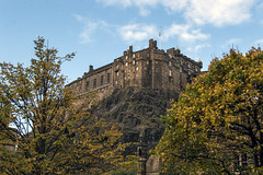 Autumnal Castle (Colin Myers Photography) Tags: old autumn castle colin photography scotland town edinburgh scottish oldtown autumnal myers greyfriars colinmyersphotography