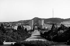 Kaesong - RPD Corea (pirindao) Tags: street city travel blancoynegro photoshop photography photo blackwhite asia noir sony 38 northkorea pyongyang urbanphotography coreadelnorte blancetnoir travelphotography streetphotgraphy kaesong northcorea paralelo38 pdrkorea rpdcorea pdrcorea