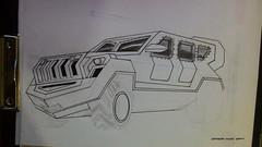 zpt01 (www.omerkoc) Tags: truck sketch drawing military çizim attleborough karakalem colorpen blackpencil mineresistantambushprotected turkishforces ömerkoç militaryvehicledrivers