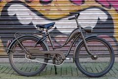 P1's Badass Kids Bike (@WorkCycles) Tags: bike bicycle kids project army military father son restore custom brooks p1 fiets restauratie fietsje legerfiets workcycles