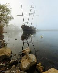 pirateship in fog (Rex Montalban Photography) Tags: fog niagara pirateship jordanstation rexmontalbanphotography