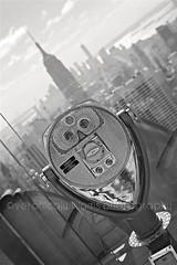 Top of the Rock, New York (veronicajwilliams photography) Tags: city nyc usa newyork skyline america cityscape manhattan telescope newyorkskyline empirestatebuilding empirestate topoftherock travelphotography totr veronicajwilliams veronicajwilliamsphotography