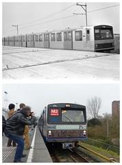 Afscheid Zilvermeeuw Metro Amsterdam (Olga and Peter) Tags: 3 amsterdam metro m1 farewell 23 m3 afscheid gvb silvergull zilvermeeuw f39984fp1090646