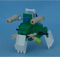Triskelion (Mantis.King) Tags: lego walker scifi futuristic mecha mech moc multiped microscale tripletchallenge mechaton mfz mf0 mobileframezero