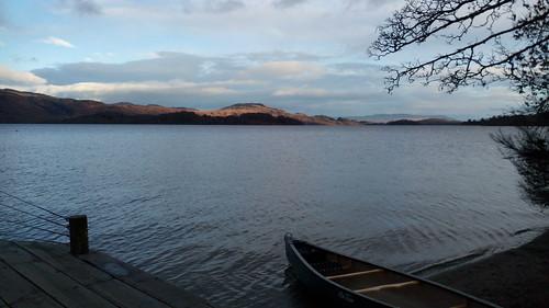 Le paisible Loch Lomond, en Écosse