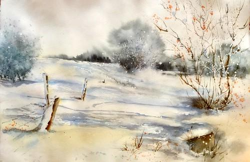 Premières neiges (version 2)