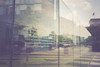 Our world comes apart - Berlin 19/12/16 (Stefan (ON/OFF)) Tags: berlin bokeh dof dephtoffield grundgesetz pov angle jakobkaiserhaus sonya7 sel35f14z 35mm reflections mirror glass article
