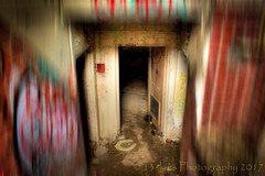 Camp 30 re-edited (HSS) (13skies) Tags: camp30 bowmanville powcamp prison prisoners officers basement darkness run rundown abandoned ruins derelict hdr effects blur blurred photo