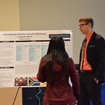 Political Science student shares his research.