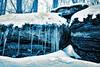 An Icy Ledge, 2017.01.01 (Aaron Glenn Campbell) Tags: bmr backmountainrecreation bmrnaturetrails adam'sloop lehman backmountain luzernecounty nepa pennsylvania newyearsday trail hiking outdoors nature optoutside firstdayhike quadtone topazlabs sony a6000 ilce6000 mirrorless rokinon 12mmf2ncs wideangle primelens manualfocus emount