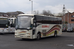 V432EAL  Ellenvale, Aspatria (highlandreiver) Tags: v432eal v432 eal ellenvale coaches aspatria jonckheere bus coach titteringtons blencow penrith lochs glens aberfoyle carlisle cumbria