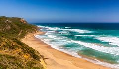 Castle Cove, Great Ocean Road (russellstreet) Tags: water castlecove victoria beach sky australia horizon bluesky