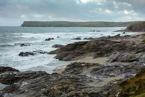 Broadagogue Cove and Pentire Point from Trebetherick