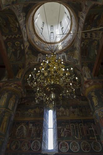 Inside Snagov Monastery, 13.10.2014.