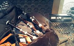Studio rehearsal (Andrés Bentancourt) Tags: bagpipe bagpipes ghb scottish music celtic sound rehearsal studio console gaita musica uruguay uruguai southamerica band pipe piper pipers piping
