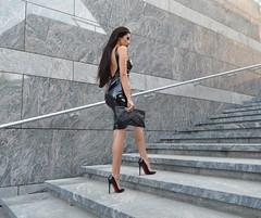 Laura Badura in vinyl dress (Plastic Fashion!) Tags: laura badura shiny sexy tight pvc vinyl plastic dress clothing fashion beauty girls women lack plastik kleid lackkleid plastikkleid kleidung schön frau