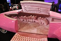2016 LA Auto Show (USautos98) Tags: pinkpanthermobile pinkpanther hotrod streetrod custom interior laautoshow losangeles california
