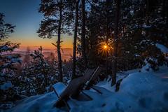 Sundown in Austria