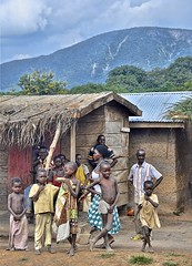 Welcome to Ashaimbre village (Pejasar) Tags: village ashaimbre ghana westafrica africa children people boys girls kids welcome rural