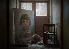 Zina Portnova (I g o r ь) Tags: abandoned decay decayed rust urban forgotten lostplaces urbanexploration pioneers lenin ussr cccp sovietunion communism sonya7 ilce7