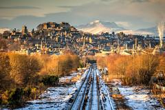 Gateway to the Highlands (Daniel Tetstall) Tags: stirlingcastle snow railway railways track networkrail scotrail