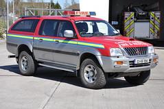 Kilkenny Fire & Rescue Service 2003 Mitsubishi L200 KKFRS L4V 03KK994
