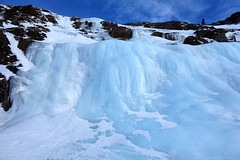 Ice fall (HervelineG) Tags: icefall alpedhuez mountain montagne cascadedeglace turquoise rx100 sony explore