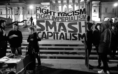 Fight Racism Fight Imperialism - London's Trafalgar Square., From FlickrPhotos