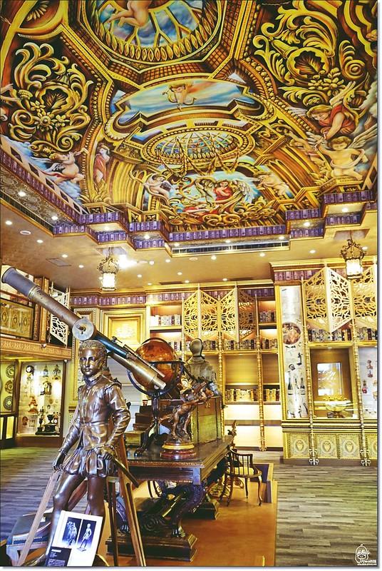 32522049355 29b4df68f3 c - 『熱血採訪』台中東區 CUCLOS Cafe & Kitchen 馥樂詩輕食餐廳/新天地西洋博物館-一起走入文藝復興時期的古典歐洲之旅,造訪台中最美麗古典優雅的圖書館餐廳