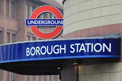 Borough station, 196-198 Borough High Street, SE1 (Tetramesh) Tags: tetramesh london england britain greatbritain gb unitedkingdom uk londër лондан лондон londres londýn londen lontoo λονδίνο londain londra londone londyn llundain londrez loundres londono londinium llondon lunnainn lùndra