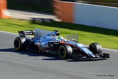 Alfonso Celis Jr.- Sahara Force India--NIKON D3200 - TAMRON SP 70-300mm F4-5.6 Di VC USD (Juan P.M.) Tags: formula one test days 2017 alfonso celis jr sahra force india circuit de barcelona catalunya