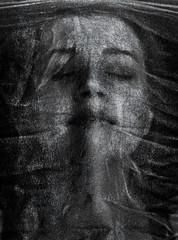 The sound of silence (Philip L Hinton A.R.P.S.) Tags: mono bw creative textured nikon mystique dark