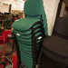 Metal stacking chair €35