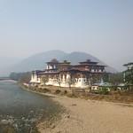 Der Dzong in Punakha, Bhutan