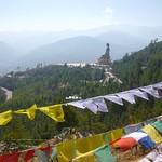 Blick auf die Buddha Dordenma Statue, Thimphu (Bhutan)