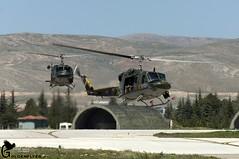 NTM Konya 7-5-2015 AB-212 21 Gruppo (Goldenflyer) Tags: training turkey army italian 21 tiger huey gr airforce runway markings nato gruppo konya 952 956 turkisch ntm ab212 tigermeet 21gr mm81149 mm81152