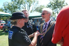 "Lord Mayor of Plymouth and Plymouth Police at Plymouth Pride 2015 • <a style=""font-size:0.8em;"" href=""http://www.flickr.com/photos/66700933@N06/20442457748/"" target=""_blank"">View on Flickr</a>"