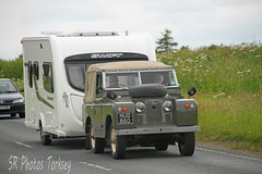 Land Rover NUD 860 (SR Photos Torksey) Tags: road truck transport rover lorry commercial land vehicle haulage hgv