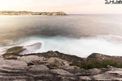 IMG_0970 (Joseph Hui (J_HUI)) Tags: ocean longexposure people cloud sun beach water bondi canon landscape sand rocks sydney 1740 6d tamarama jhui